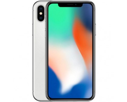 Apple iPhone X (Silver,64GB)