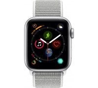 Apple Watch Series 4 (44mm,Silver Aluminum Case with Seashell Sport Loop)