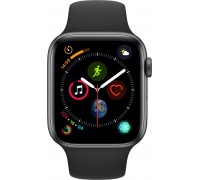 Apple Watch Series 4 (GPS + Cellular,44mm,Space Gray Aluminum Case with Black Sport Band)