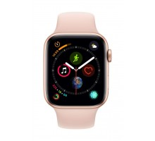 Apple Watch Series 4 (44mm,Rose Gold Aluminum Case with Pink Sand Sport Band)