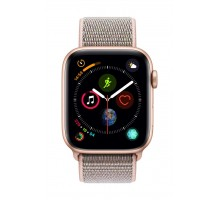 Apple Watch Series 4 (44mm,Rose Gold Aluminum Case with Pink Sand Sport Loop)