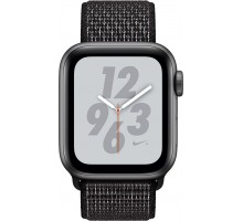 Apple Watch Series 4 Nike+ (GPS,44mm,Space Gray Aluminum Case with Black Nike Sport Loop)