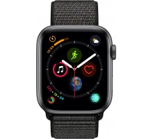 Apple Watch Series 4 (44mm,Space Gray Aluminum Case with Black Sport Loop)