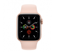 Apple Watch Series 5 (40mm,Gold Aluminum Case with Pink Sand Sport Band)
