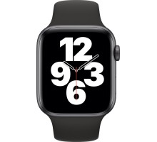 Apple Watch SE (40mm,Space Gray Aluminum Case with Black Sport Band)