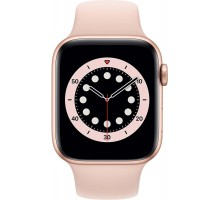 Apple Watch Series 6 (40mm,Gold Aluminum Case with Pink Sand Sport Band)