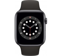 Apple Watch Series 6 (40mm,Space Gray Aluminum Case with Black Sport Band)