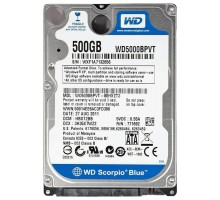 "WD Scorpio Blue HDD 2.5"" (500GB)"