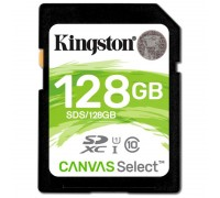 Kingston SDXC Canvas Select yaddaş kartı (128GB)