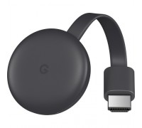 Google Chromecast (3rd Generation,Charcoal)
