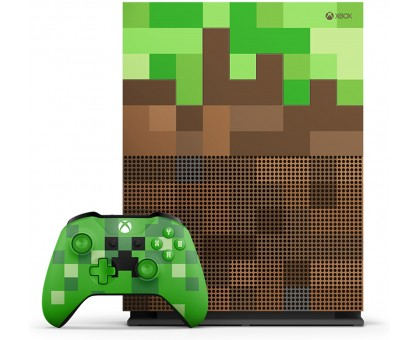 Microsoft Xbox One S Console  (1TB,Minecraft Bundle Limited Edition)