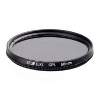 Rise (UK) CPL filter 58mm