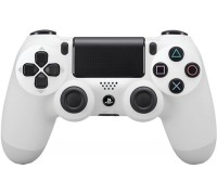 PS4 DualShock 4 Wireless Controller (White)