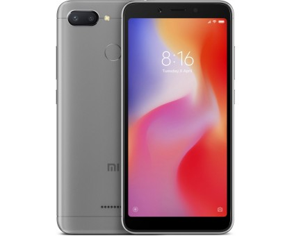 Xiaomi Redmi 6 (3GB,32GB,Grey)