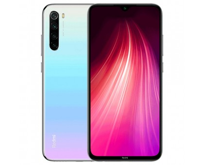 Xiaomi Redmi Note 8 (6GB,128GB,Moonlight White)