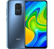 Xiaomi Redmi Note 9 (4GB,128GB,Midnight Grey)