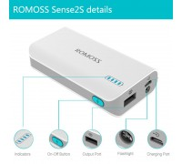 ROMOSS sense 2s Power Bank (5000 mAh)