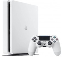 Sony PlayStation 4 Slim (500GB,White)