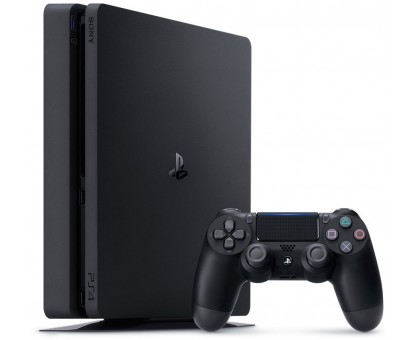 Sony PlayStation 4 Slim (1TB,Black)