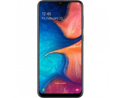Samsung Galaxy A20 (3GB,32GB,Black)