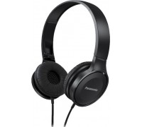 Panasonic RP-HF100GC-K On-Ear Headphones (Black)