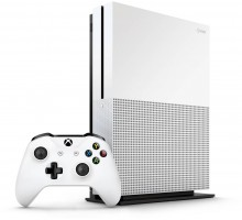 Microsoft Xbox One S Console (500GB,White)